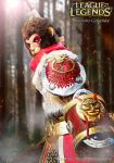 Wukong cosplay (league of legends) Riot games by KororoKoropukkuru