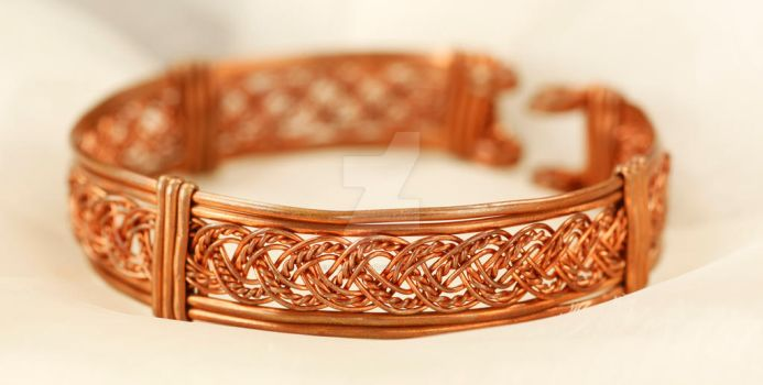 Intricate Braided Bracelet by ClaireKincaid