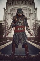 Mentore Ezio Auditore by Forcebewitya