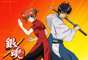 Kagura - Shinpachi by Surrealistic-Fantasy