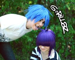 Gorillaz: I lick you by Hello-Yuki