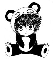 L in a panda dress by Zedom