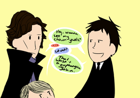 Crown Jewels: Sherlock BBC by UntitledTurtles