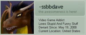 ssbbdave ID by NS-Games