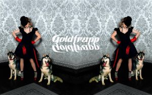 Goldfrapp Wallpaper by InsectGod