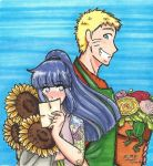 Naruhina: A Flower For Your Thoughts by Kiyomi-chan16