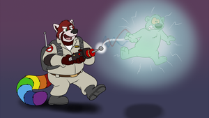 Gone Ghostbustin' by Kresblain