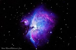 The Great Orion Nebula M42 by SketchupAE