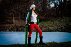 New Year's Lara Croft - perfect nature by TanyaCroft