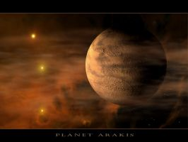 Planet Arakis by angelic-jean