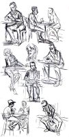 09-10-13 Cafesketches by Totalmeep