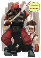 15.Do not touch my medic by dakr0819