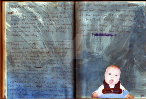 Thats my baby - journal page by theartproject