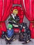 KHR: two frogs and a prince by Berumi