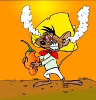 Speedy Gonzales vs. the Habanero by MatthewHunter