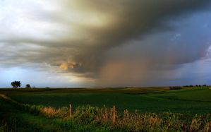 Iowa summer storm by tdiguy