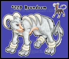 Pokemon: Houndoom 2012 by AirRaiser