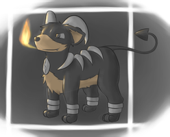 Houndoom by TheFurret