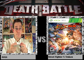 Street Fighter X Tekken Vs. Avgn by MarvelMeleeChunLi32