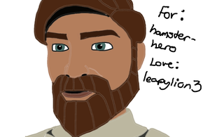AT: hamster-hero: Obi-Wan by leapylion3