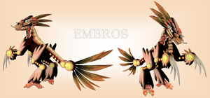 SPORE Creature - Embros by swordxdolphin
