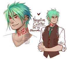 .: Redesign OC Negative Counter :. by Aurumis