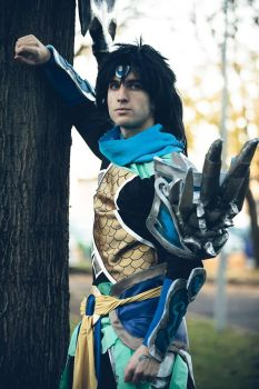 Warrior Kindgom Xin Zhao Cosplay by SenninUzumaki