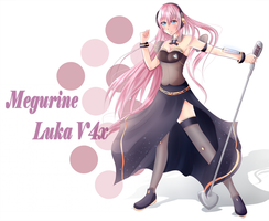 Megurine Luka V4x by CuteNerdChick