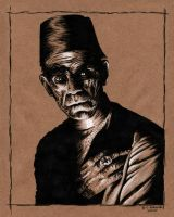 Karloff as the Mummy by ATLbladerunner