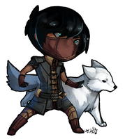 Guild Wars: Pherick Clauss by BloodnSpice