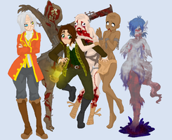 Amnesia: Collab 1 by Sako1991