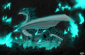 TRON Dragon by XinoMetal