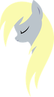Minimal Derpy Hooves by xPesifeindx