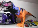 Jurassic Park Chaos Effect Omega T-Rex by forever-at-peace