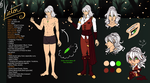 GR: Victor - Character Sheet by TouchedVenus