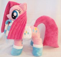 PINKAMENA With Accessories Custom Minky Plush by ponypassions