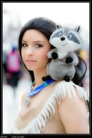 Pocahontas - What do you think Meeko? by K-i-R-a-R-a