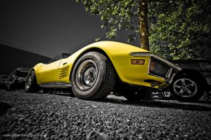 yellowC3 Stingray by AmericanMuscle