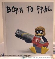 Born to frag by Graphxstudio