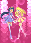 Our Hearts Are One--Pretty Cure by Lady-Moth