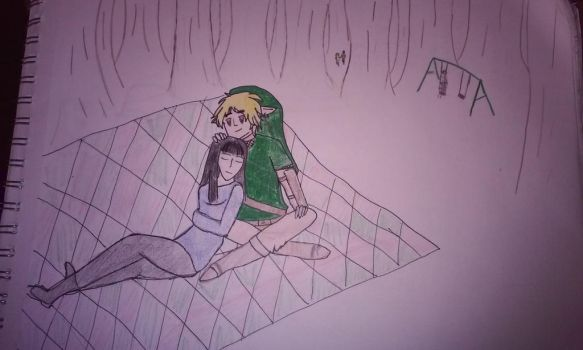 Crystal Hunter and BEN DROWNED by bb258