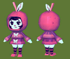 Apple Girl by brotoad