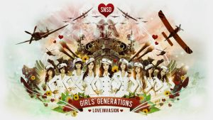 SNSD LOVE INVASION by r4prolutions