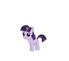 Twilight as a Filly by kitty55501