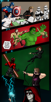 Marvel vs Star Wars: Avengers Edition by lgghanem