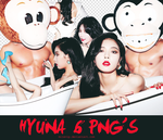 HYUNA 6 PNG'S BY:MILEVIP by Milevip