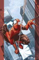 Ultimate Spider-Man cover for Marvel Italia by elena-casagrande