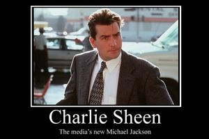 Charlie Sheen demotivator by Party9999999