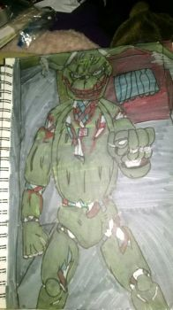SpringTrap in my house by vipermoon878