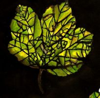 Stained Glass Leaf? by beckykekky